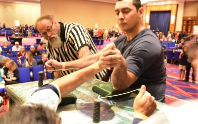 Mid Summer Slam Arm Wrestling Contest – August 2018