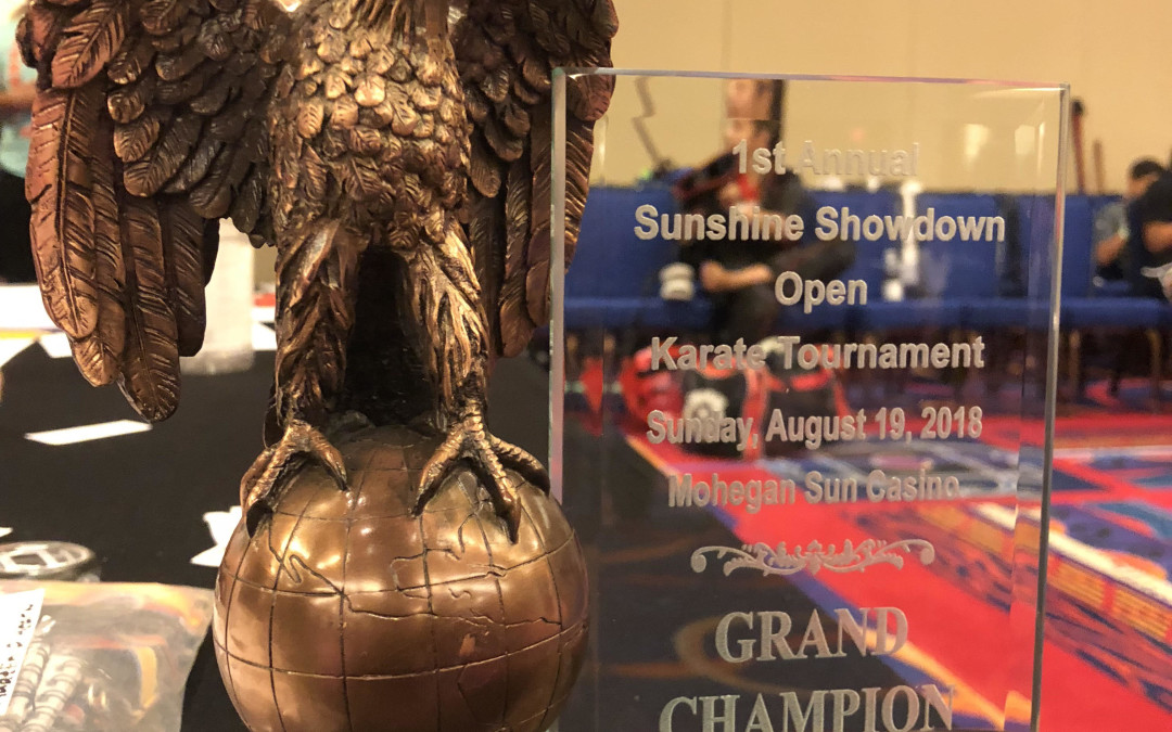 Sunshine Showdown Open Karate Tournament August 19, 2018